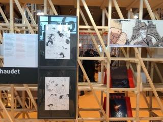 L'espace BD avec ses expositions !