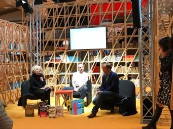 L'espace BD et ses conférences avec Wilfrid Lupano