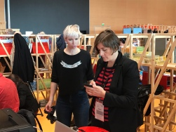 L'espaceBd avec Cy et Lisa Mandel