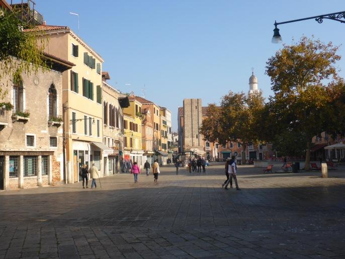 Venise Campo Santa Margherita Dorsoduro