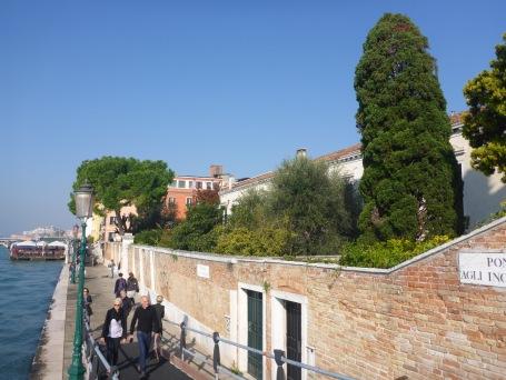 Venise vers la Punta Della Dogana