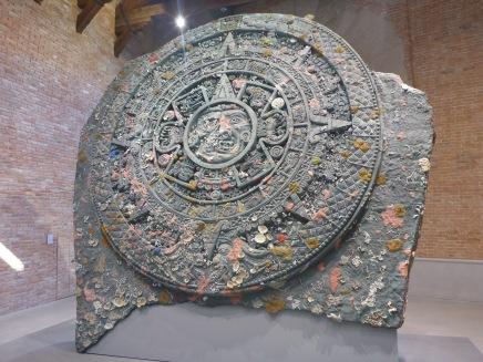 Expo Damien Hirst calendrier aztèque
