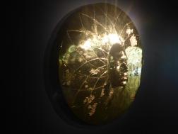 Expo Damien Hirst Disque solaire Or et argent