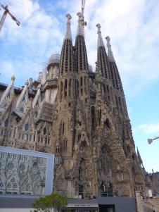 La Sagrada Familia façade nativité