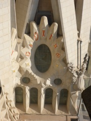 La Sagrada Familia vue tour de la Passion
