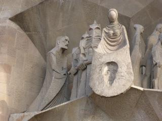 La Sagrada Familia Façade de la Passion