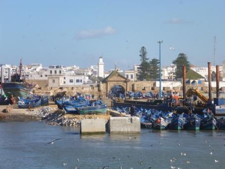 Le port, la ville