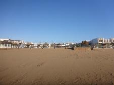 Le Sofitel vue de la plage