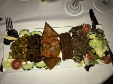 Assortiment de salades marocainnes