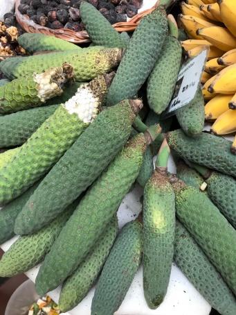 Mercado dos lavradores (ananas-banane)