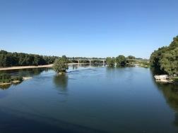 Les berges de la Loire à Tour