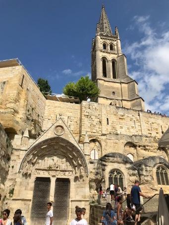 Saint Emilion Eglise monolithe
