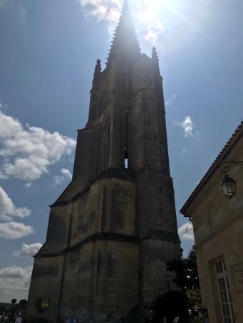 Saint Emilion le clocher