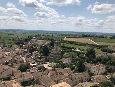 La vue du clocher