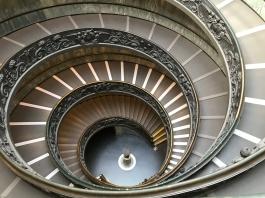 L'escalier hélicoïdale double