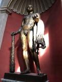 Héraclès avec la peau de lion