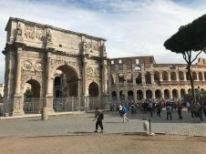 Arc de Triomphe de Constantine et le Colisée