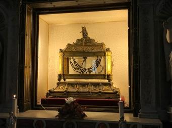 Relique des liens de Saint Peirre