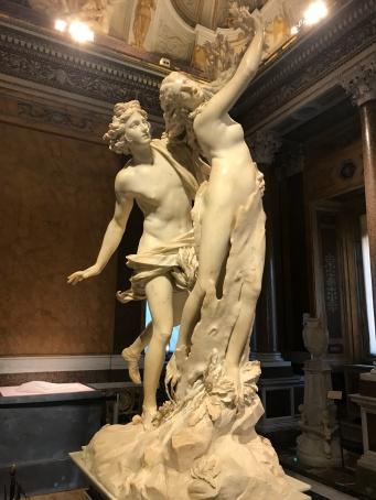 galerie Borghèse : Apollon et Daphné de Bernin
