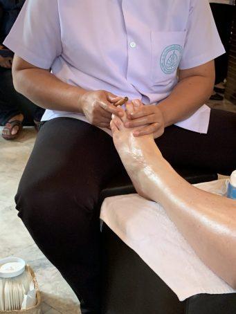 Ecole massage du Wat Po Temple