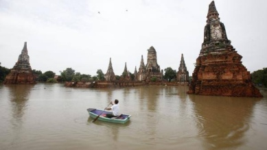 Wat Chai Watthanaram en 2011