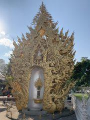 White temple wat Rong Khun