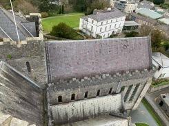 La tour de la cathédrale Saint Canice