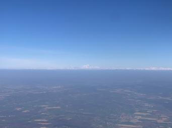 Les Alpes et le Mont-Blanc