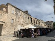 Split Croatie murs d'enceinte