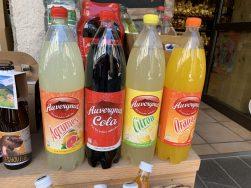 Des sodas locaux