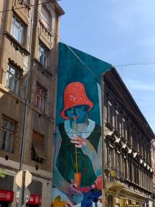 Mur peint Budapest