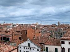 La vue de notre terrasse vénitienne