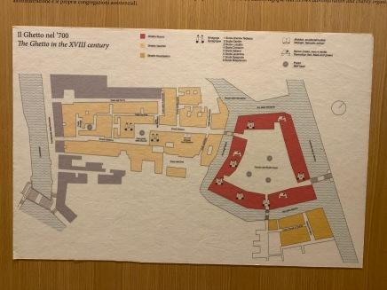 Plan des Ghettos