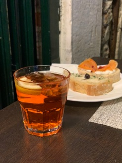 Spritz chez Osteria Cicchetteria al Bocon Di vino