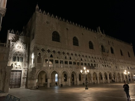 Place San Marco by night