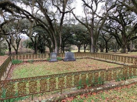 Greenwood plantation tombes des Barnes