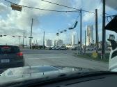 Arrivée vers Houston !
