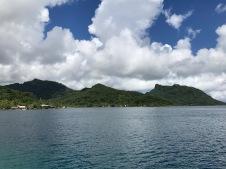 Dan la lagon de Huahine